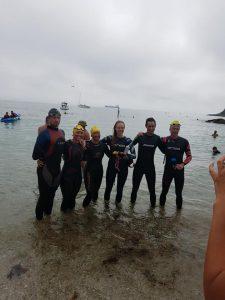 Jodie's sponsored swim - done!!