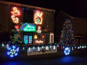Danny and Steve raise over £46 with fab Xmas Lights