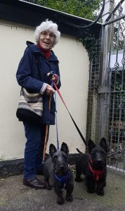Ronnie and Storm have left the Kennels